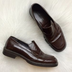 Banana Republic Dress Shoes Mens 9 Leather Loafers